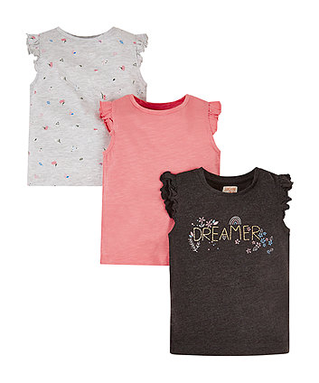 Mothercare Dreamer T-Shirt - 3 Pack