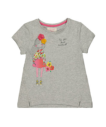 Grey Weekend Girl T-Shirt