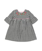 Mothercare Gingham Embroidered Dress