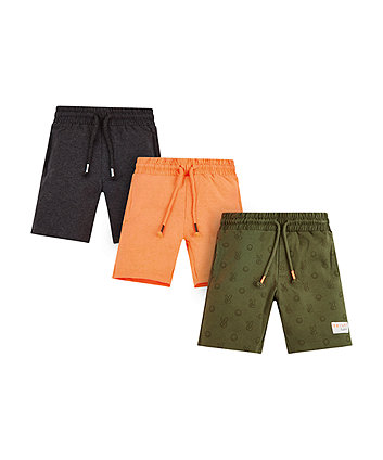 Mothercare Jersey Shorts - 3 Pack