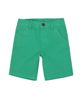 Mothercare Caribbean Dream Green Twill Shorts