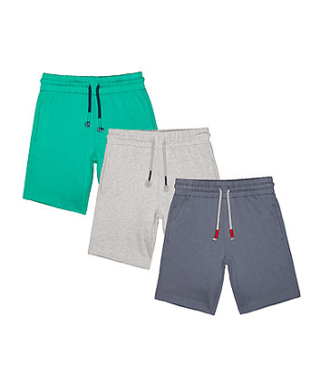 Mothercare Grey Shorts - 3 Pack