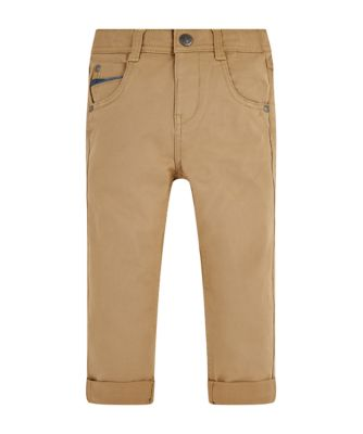 Mothercare Fantastic Trip Stone Twill Trousers