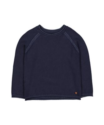 Mothercare Fantastic Trip Indigo Washed Knitted Jumper