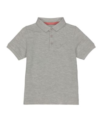 Mothercare MC61 Grey Polo Shirt