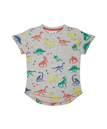 Mothercare Dinosaur Grey T-Shirt