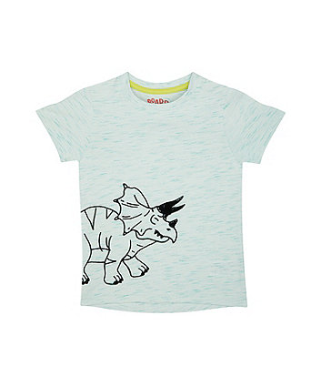 Flock Dinosaur Green T-Shirt
