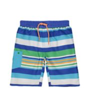 Mothercare Striped Boardshorts