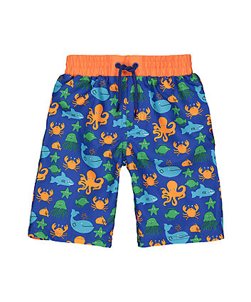 Under The Sea Swim Shorts