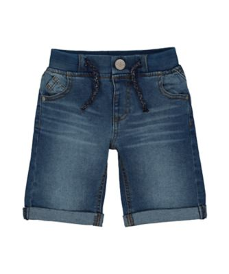 Mothercare Dark-Wash Denim Shorts