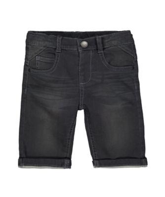 Mothercare Grey Denim Shorts