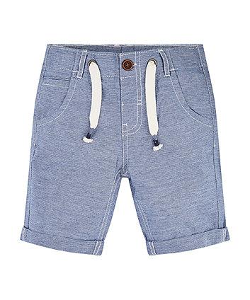 Mothercare Chambray Striped Shorts