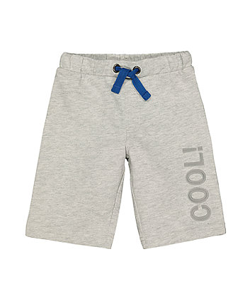 Mothercare Cool Grey Shorts