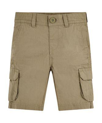 Mothercare Good Vibes Khaki Cargo Shorts