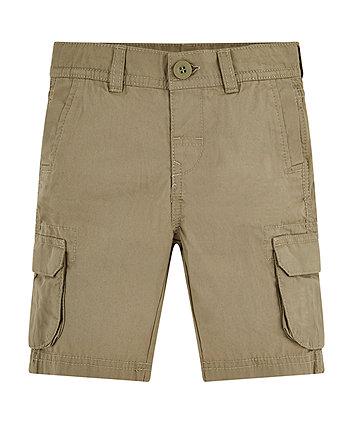 Mothercare Khaki Cargo Shorts