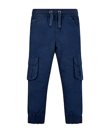 Mothercare Navy Cargo Trousers