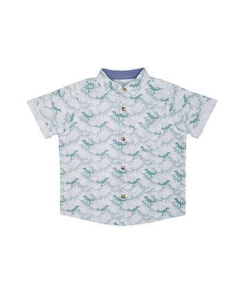 Mothercare Dinosaur Print Shirt