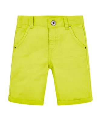 Mothercare Cool Active Yellow Twill Shorts