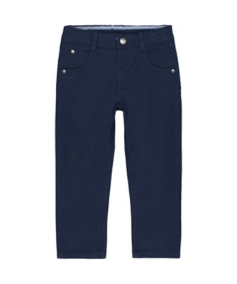 Mothercare Boat House Navy Woven Trousers