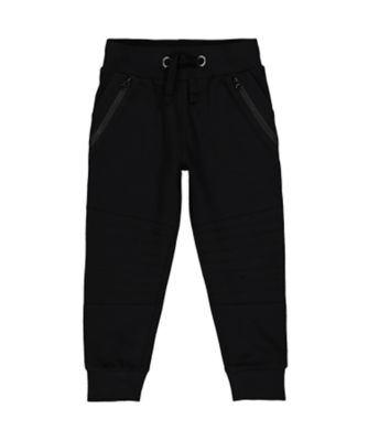 Mothercare Cool Active Black Zip Joggers