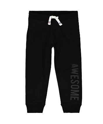 Mothercare Black Joggers