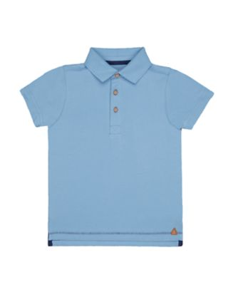 Mothercare Stay Wild Blue Polo Shirt