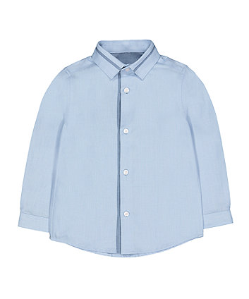 Mothercare Blue Twill Shirt