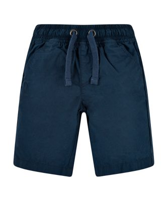 Mothercare West Coast Navy Poplin Shorts