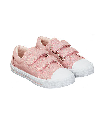 Mothercare Pink Sparkle Trainers