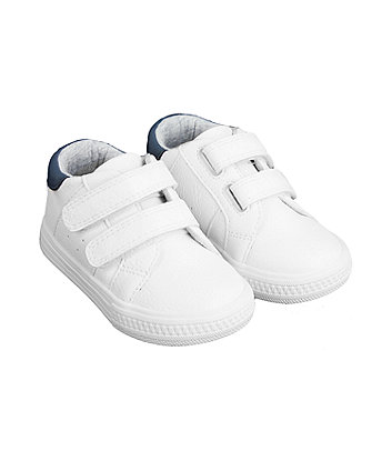 Mothercare First Walker White Classic Trainers