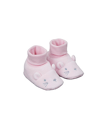 Novelty Mouse Socktop Booties