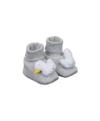 Mothercare Novelty Duck Socktop Booties