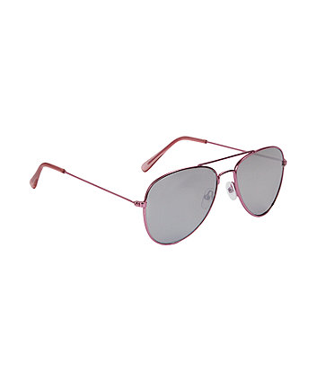 Mothercare Pink Aviator Sunglasses