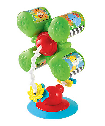 Early Learning Centre Baby Safari Spin And Roll Highchair Toy