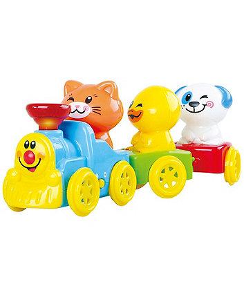 Mothercare Baby Safari Musical Animal Train