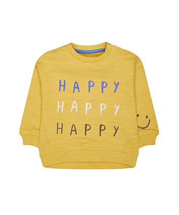 Mothercare Happy Sweat Top