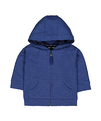 Mothercare Blue Good Time Hoodie