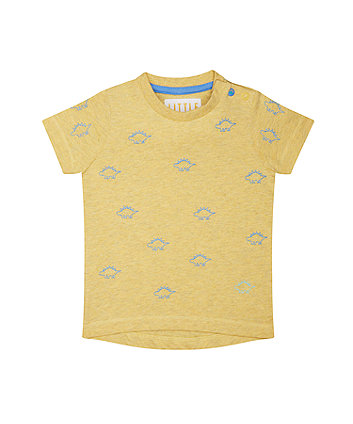 Yellow Dinosaur T-Shirt