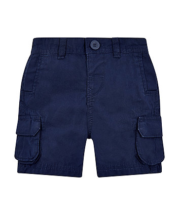 Mothercare Navy Cargo Shorts