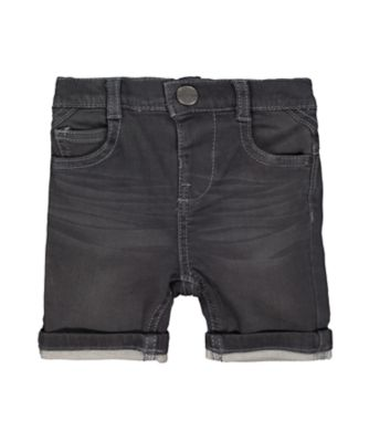 Mothercare Grey Denim Shorts