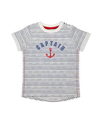 Striped Captain T-Shirt
