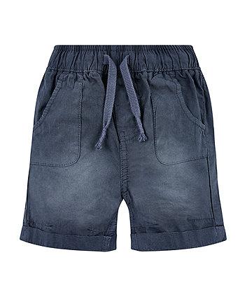 Mothercare Navy Washed Shorts