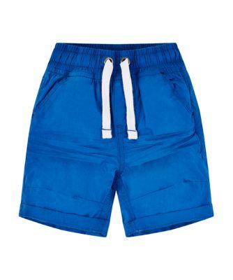 Mothercare Sunny Cove Blue Poplin Shorts