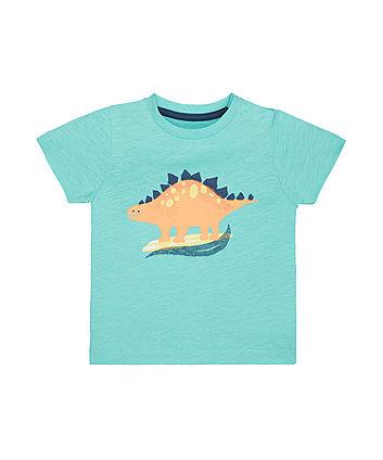 Mothercare Turquoise Dinosaur Surf T-Shirt