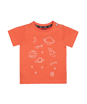 Mothercare Coral Planet T-Shirt