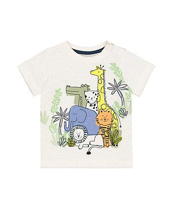 Mothercare Animal Zoo T-Shirt