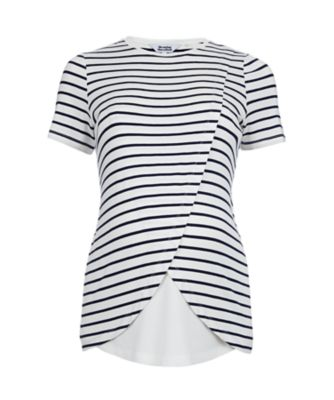 Mothercare Stripe Nursing Wrap Top