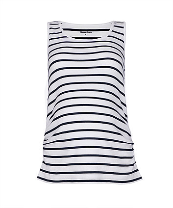 Mothercare Striped Maternity Vest