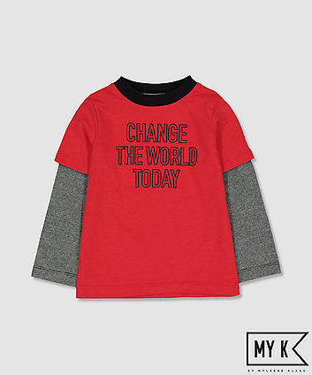Mothercare My K Change The World T-Shirt