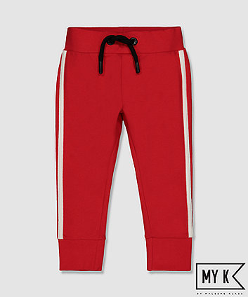 Mothercare My K Red Side-Stripe Joggers